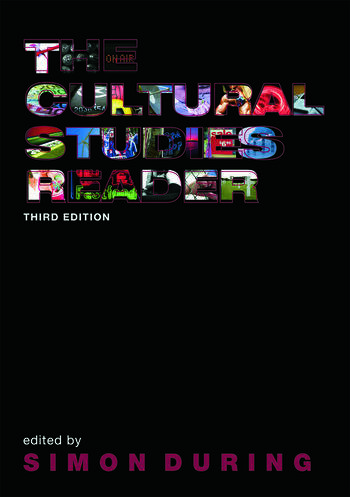 The Cultural Studies Reader book cover