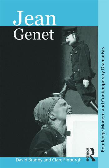 Jean Genet book cover
