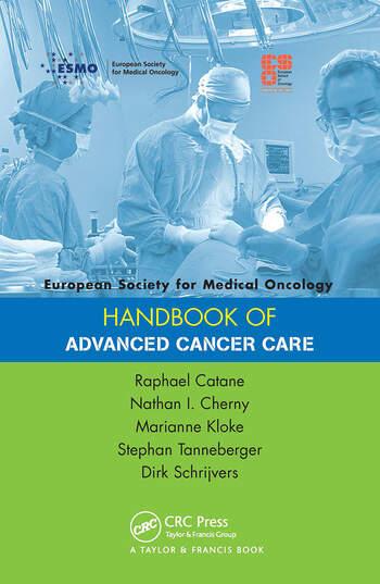 ESMO Handbook of Advanced Cancer Care book cover