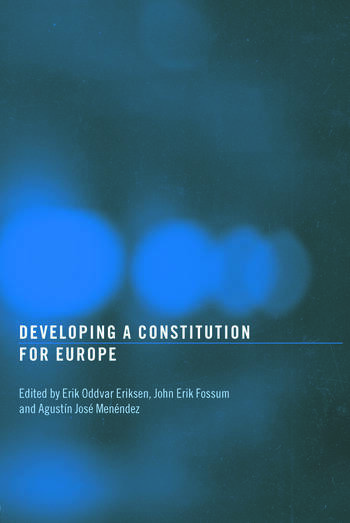 Developing a Constitution for Europe book cover