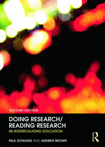 Doing Research/Reading Research Re-Interrogating Education book cover