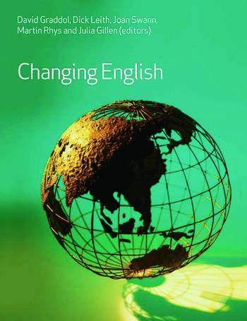 Changing English book cover