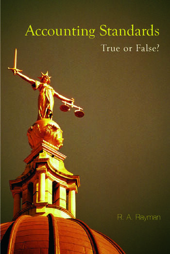 Accounting Standards: True or False? book cover