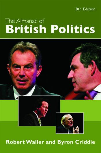 The Almanac of British Politics 8th Edition book cover