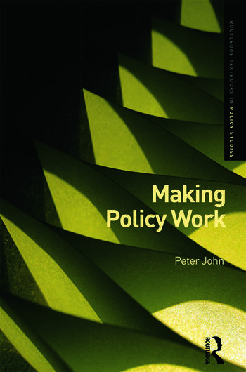 Making Policy Work book cover