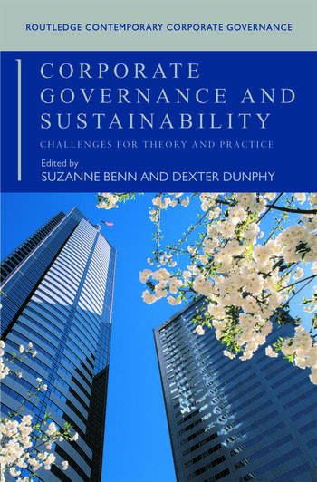 Corporate Governance and Sustainability Challenges for Theory and Practice book cover
