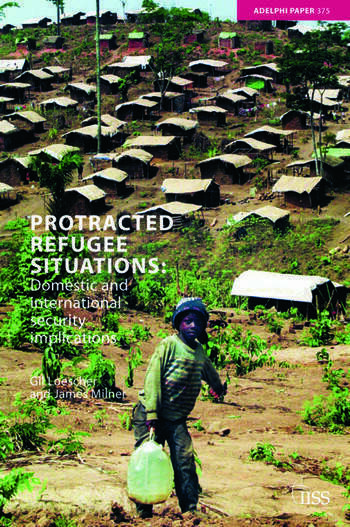 Protracted Refugee Situations Domestic and International Security Implications book cover