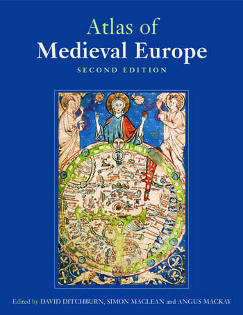 Atlas of Medieval Europe book cover