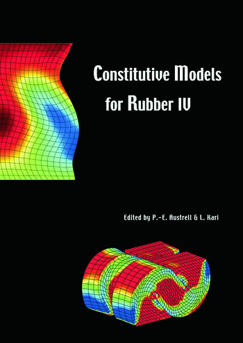 Constitutive Models for Rubber IV Proceedings of the fourth European Conference on Constitutive Models for Rubber, ECCMR 2005, Stockholm, Sweden, 27-29 June 2005 book cover