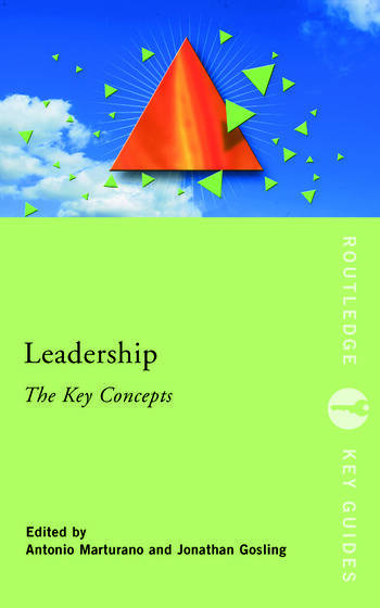 Leadership: The Key Concepts book cover
