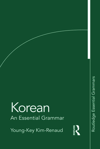 Korean: An Essential Grammar book cover