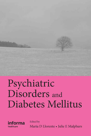 Psychiatric Disorders and Diabetes Mellitus book cover