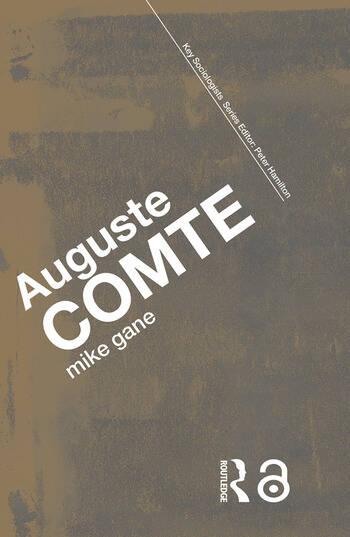 Auguste Comte book cover