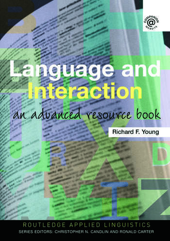 Language and Interaction An Advanced Resource Book book cover