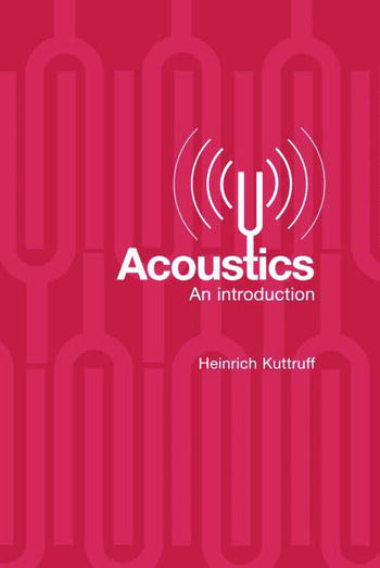 Acoustics An Introduction book cover