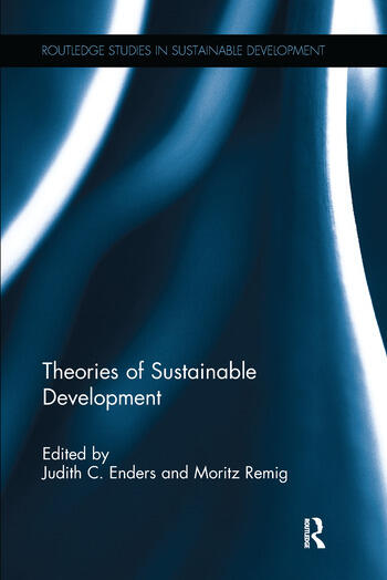 Theories of Sustainable Development book cover