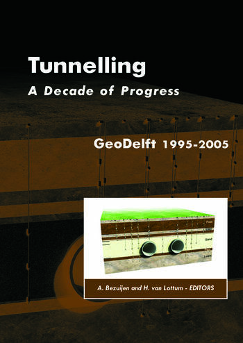 Tunnelling. A Decade of Progress. GeoDelft 1995-2005 book cover