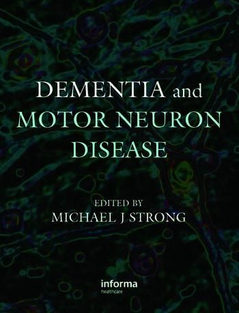 Dementia and Motor Neuron Disease book cover