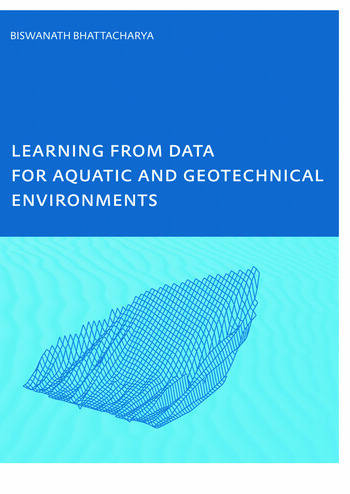 Learning from Data for Aquatic and Geotechnical Environments book cover