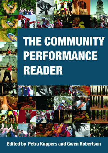 The Community Performance Reader book cover
