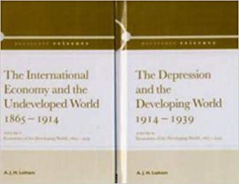 Economics in the Developing World 1865-1939 book cover
