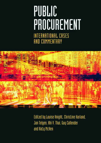 Public Procurement International Cases and Commentary book cover