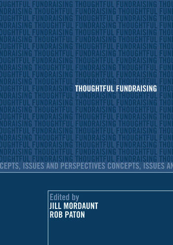 Thoughtful Fundraising Concepts, Issues and Perspectives book cover