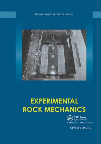 Experimental Rock Mechanics book cover