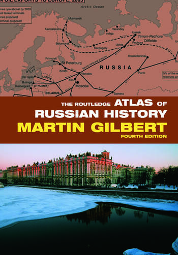 The Routledge Atlas of Russian History book cover