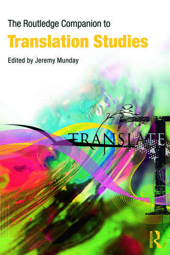 The Routledge Companion to Translation Studies book cover
