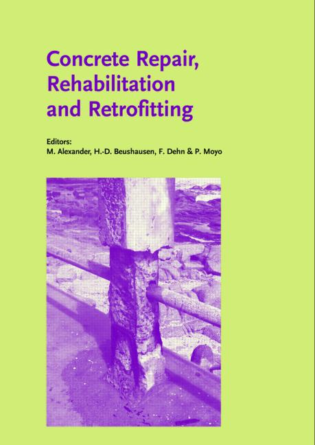 Concrete Repair, Rehabilitation and Retrofitting Proceedings of the International Conference, ICCRRR-1, Cape Town, South Africa, 21-23 November 2005 book cover