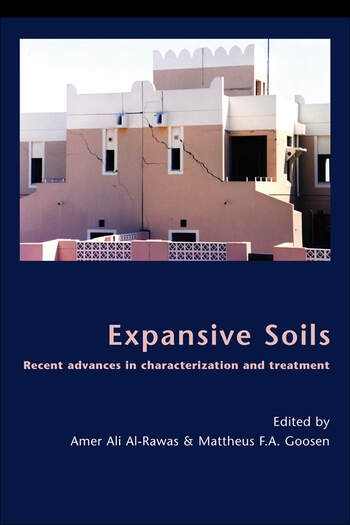 Expansive Soils Recent Advances in Characterization and Treatment book cover