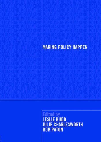 Making Policy Happen book cover