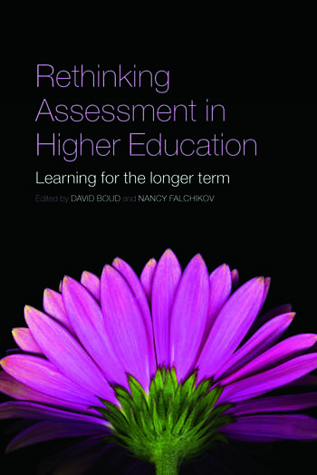 Rethinking Assessment in Higher Education Learning for the Longer Term book cover