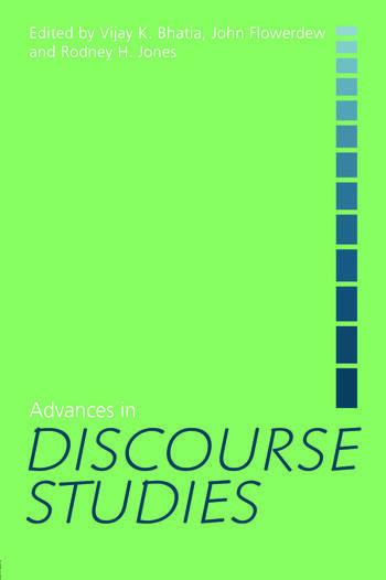 Advances in Discourse Studies book cover