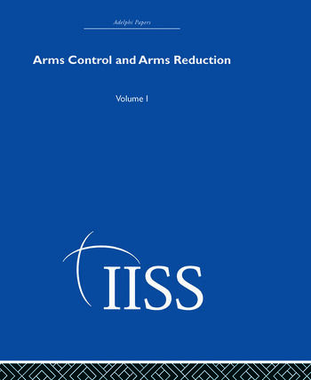 Arms Control and Arms Reduction Volume 1 book cover