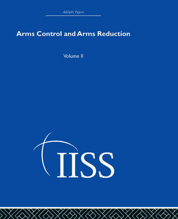 Arms Control and Arms Reduction Volume 2 book cover