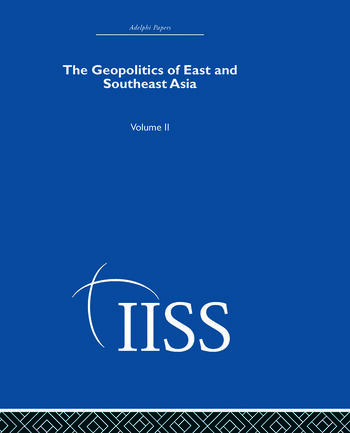 The Geopolitics of East and Southeast Asia Volume 2 book cover
