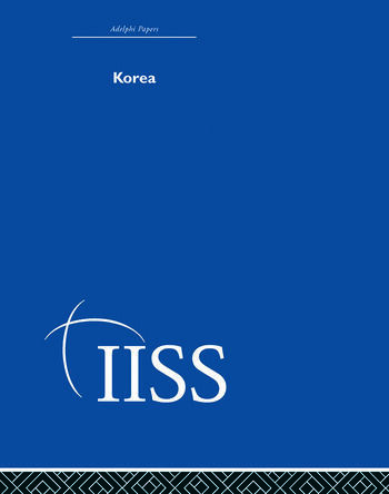 Korea book cover