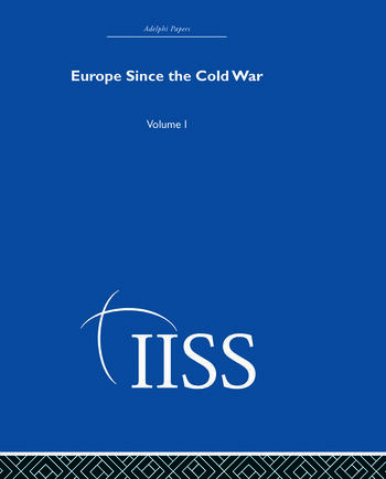 Europe Since the Cold War Volume 1 book cover