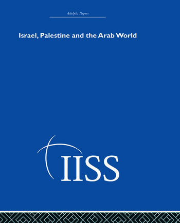 Israel, Palestine and the Arab World book cover