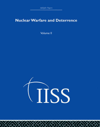 Nuclear Warfare and Deterrence Volume 2 book cover