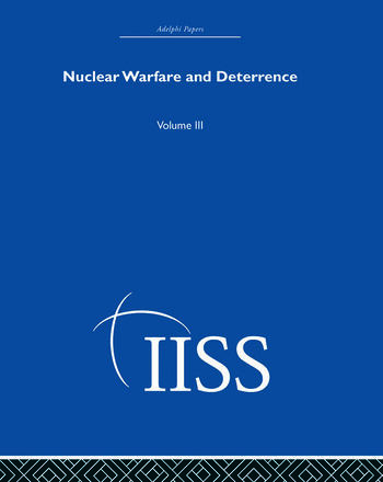 Nuclear Warfare and Deterrence Volume 3 book cover