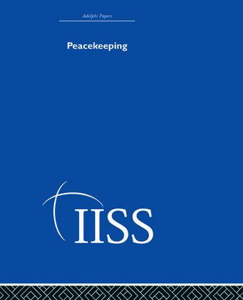 Peacekeeping book cover