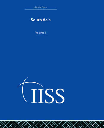 South Asia Volume 1 book cover