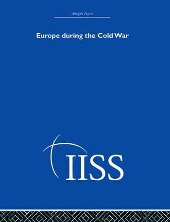 Europe During the Cold War book cover