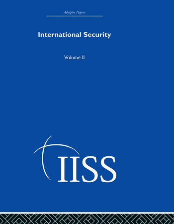 International Security Volume 2 book cover