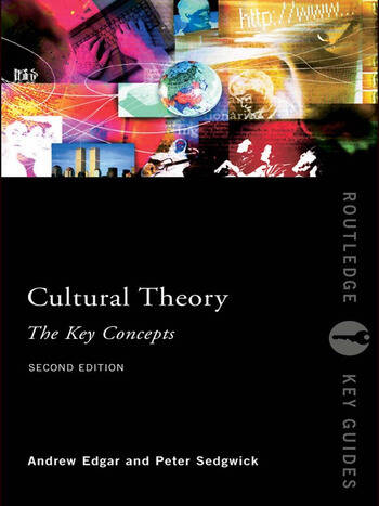 Cultural Theory: The Key Concepts book cover