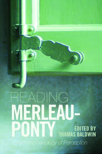 Reading Merleau-Ponty On Phenomenology of Perception book cover