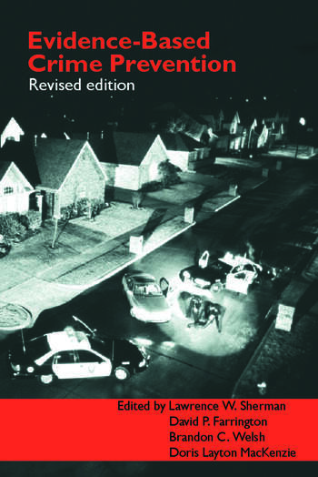 Evidence-Based Crime Prevention book cover